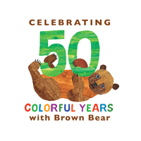 Brown Bear 50th Anniversary Logo