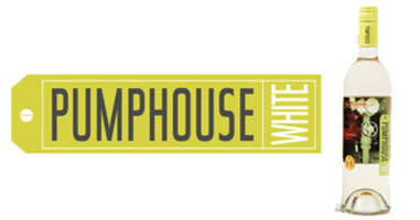 pumphouse white logo