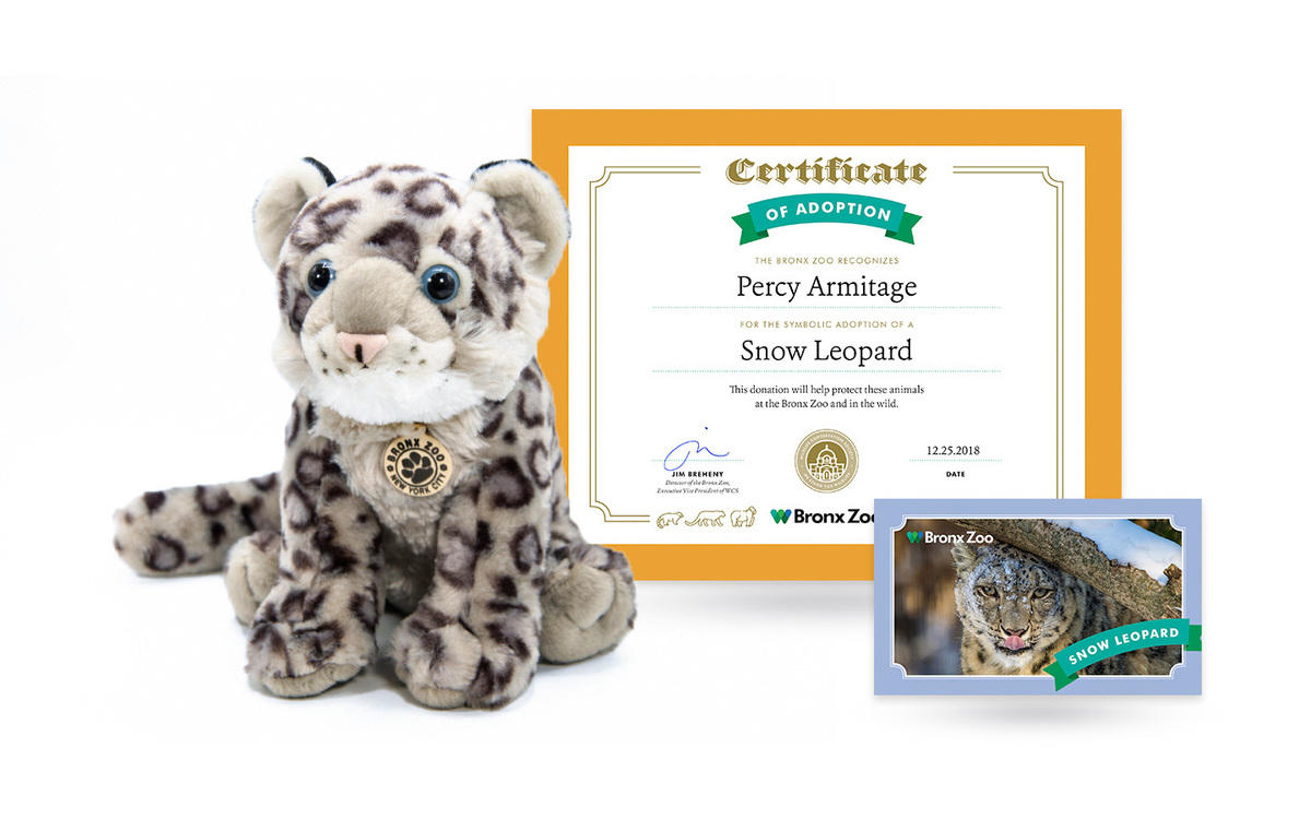 16pugg4msk bz animal adoption snow leopard package 2018