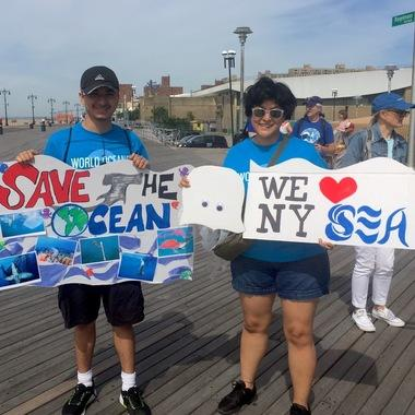 WCS NYA March for the Ocean 1